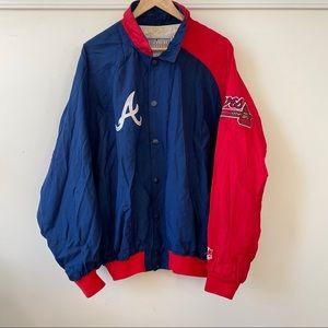 STARTER Jackets & Coats - Vintage 90s Atlanta Braves Starter Jacket